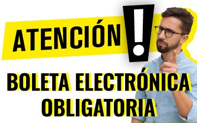 Boleta Electrónica Obligatoria